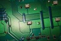Makro einer LED